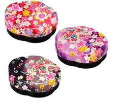 布贴樱花便当盒